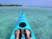 Eratap is ideal for kayaking and discovering the island's hidden treasures.