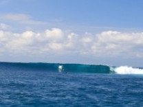 Efate island is well known for being top choice for surfing destinations.