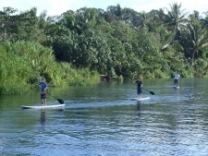 Eratap also has Stand Up Paddle Boarding that visitors can try free of charge.