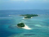 You can also cruise around uninhabited islands surrounding Eratap resort.