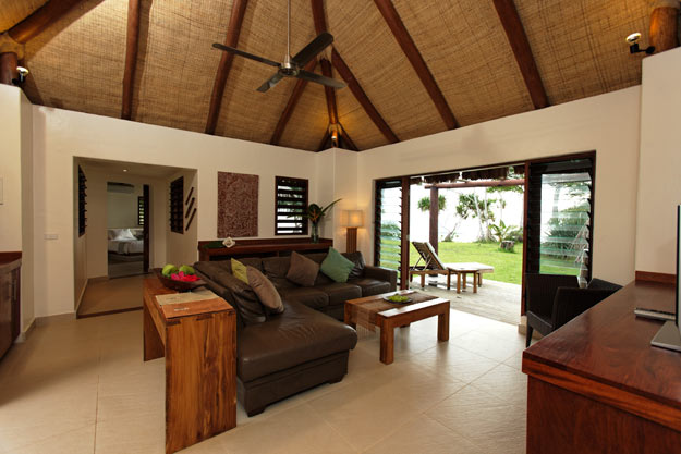 living room, Eratap Beach Resort villa