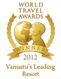 Eratap Beach Resort, World Travel Awards 2012